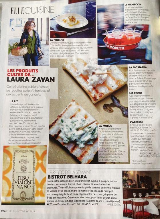 Le produits culte de Laura Zavan dans Elle