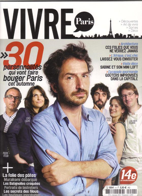 Vivre Paris 2010
