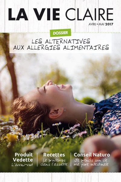 Couverture du magazine La Vie Claire de février-mars 2017