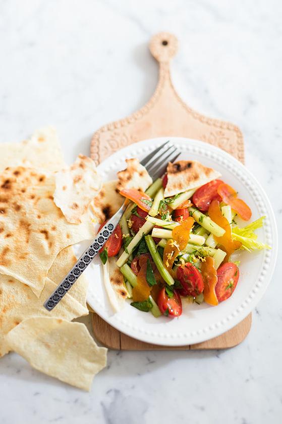 Salade de potargue, recette de Laura Zavan