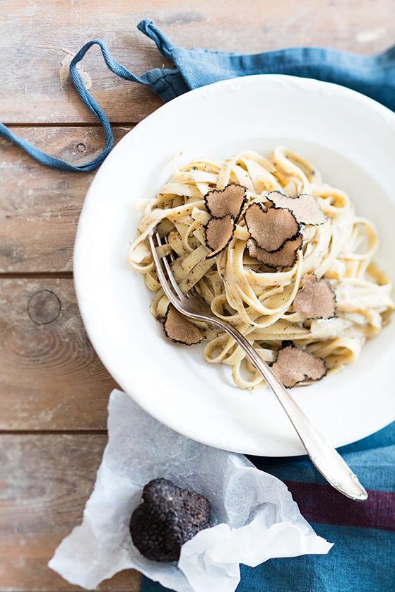 Fettuccine à la truffe, recette de Laura Zavan