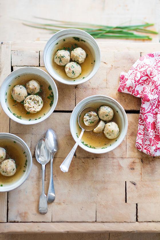 Canederli, recette de Laura Zavan