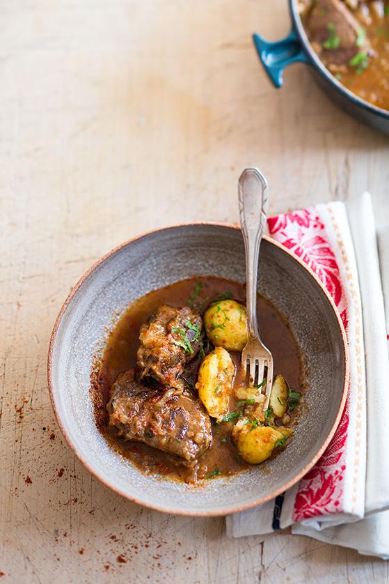 Goulash, recette de Laura Zavan