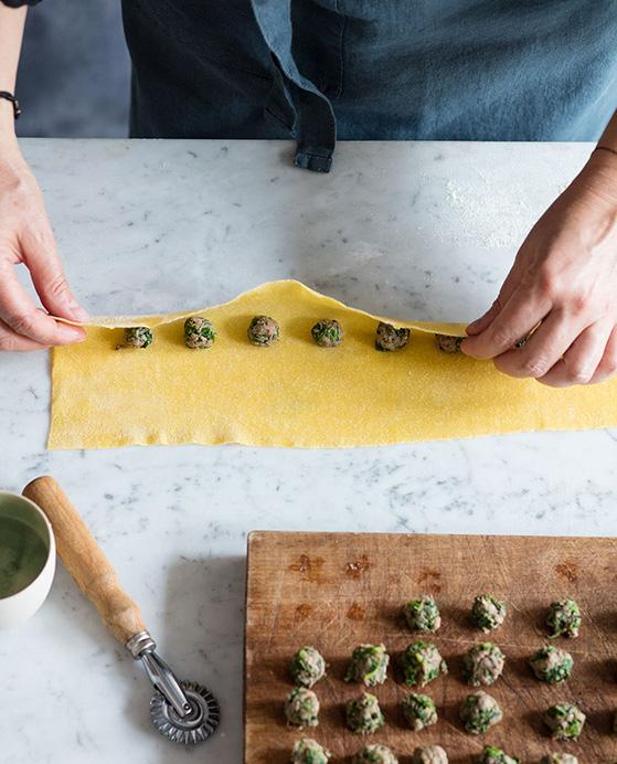Ravioli viande épinard, recette de Laura Zavan - 3