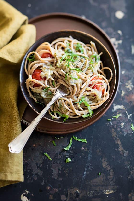 Bigoli in salsa, recette de Laura Zavan