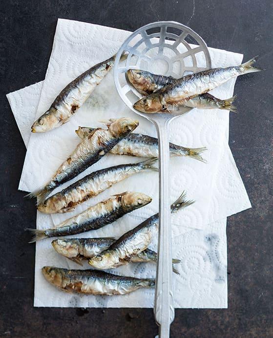 Sardines en saor - 1
