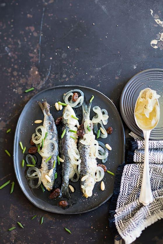 Sardines in saor, recette de Laura Zavan