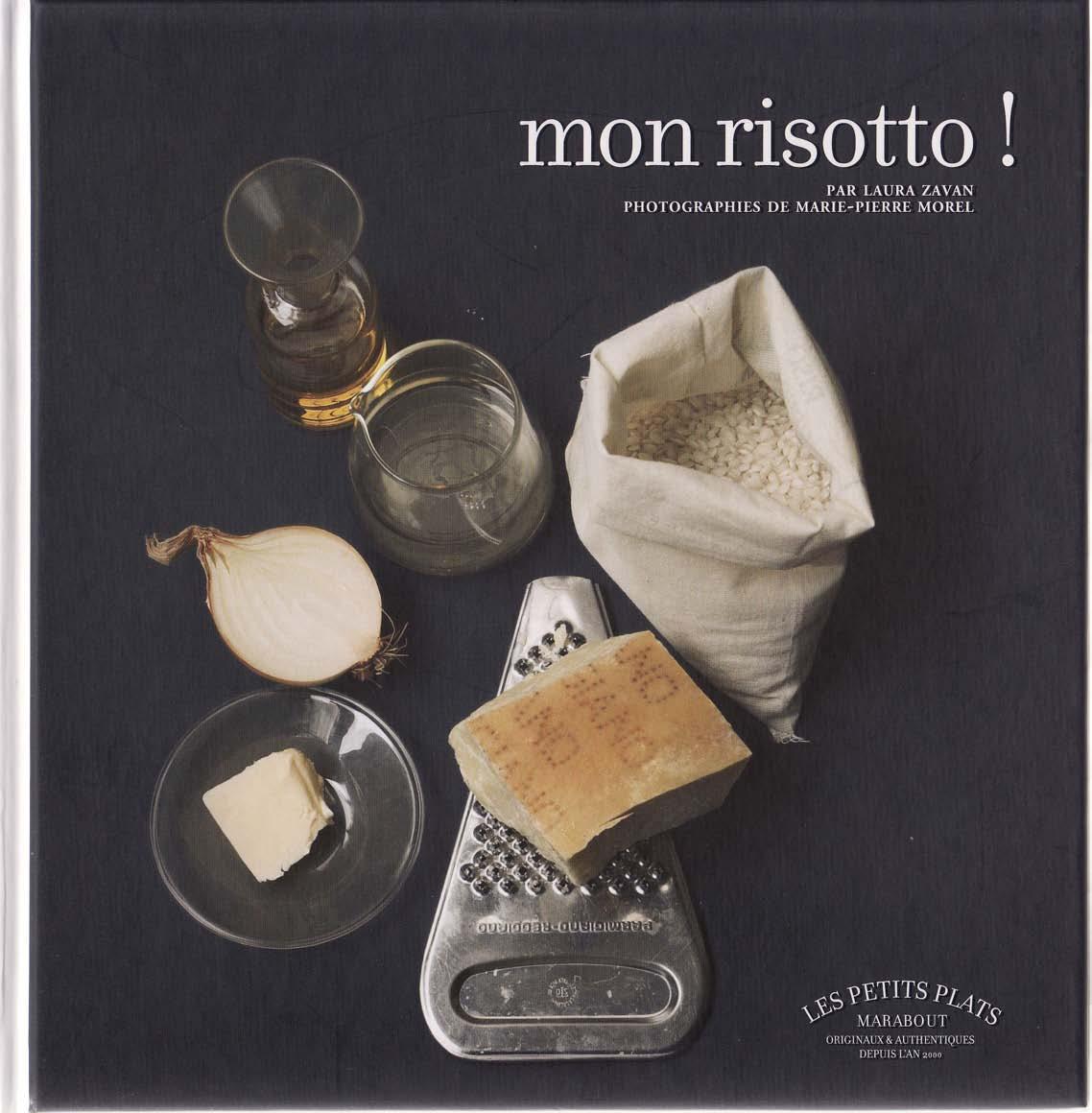 Mon risotto, éditions Marabout par Laura Zavan