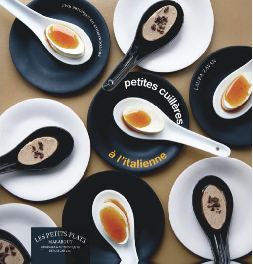 Petites cuillères à l'italienne par Laura Zavan, éditions Marabout