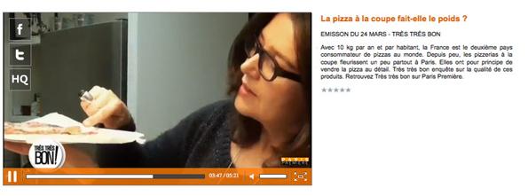 Paris Premiere emission du 24 mars 2013