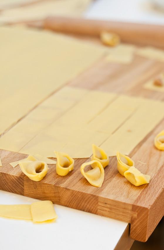 Façonnage des tortellini