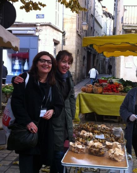 Laura Zavan et Alessandra Pierini