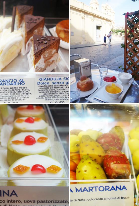 Dégustation de pâtisseries à Noto, en Sicile