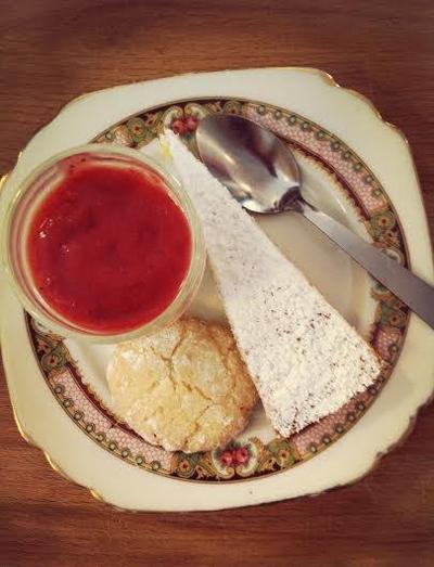 Torta sabbiosa et amaretti de Laura Zavan