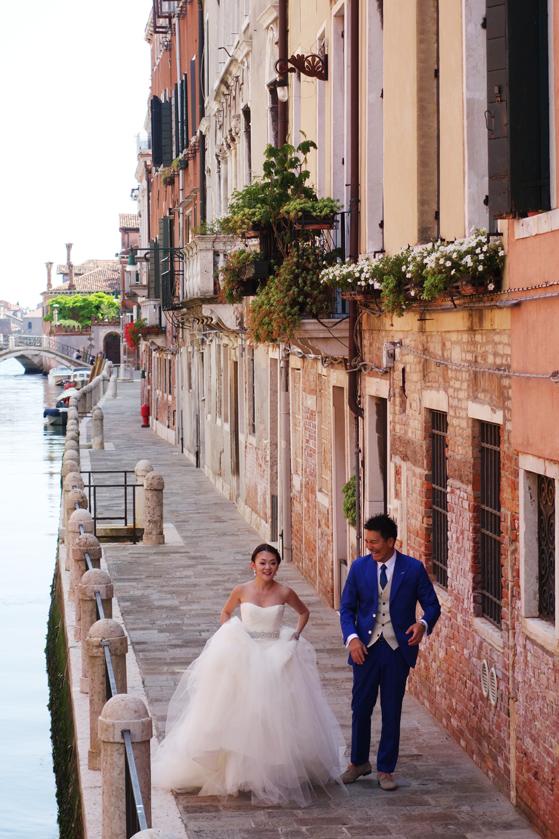 Mariés à Venise