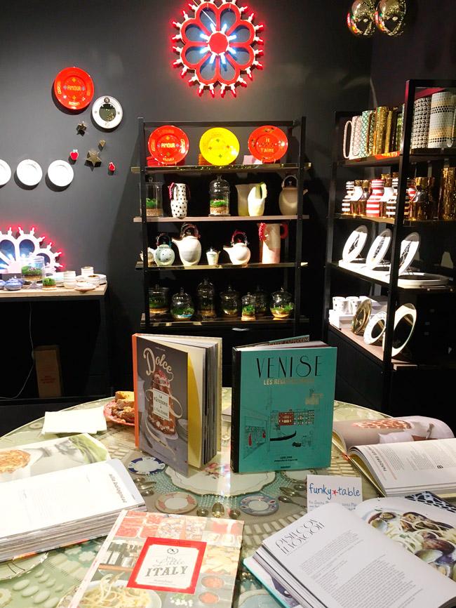 Livres de Laura Zavan chez Funky Table, Paris