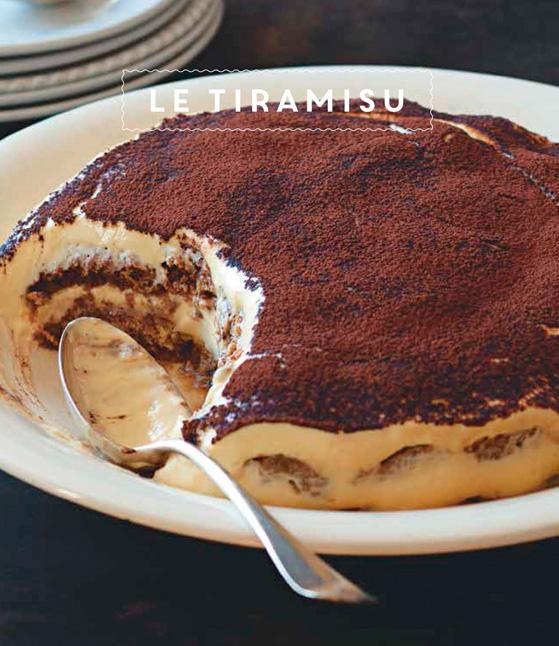 Tiramisu, recette de Laura Zavan