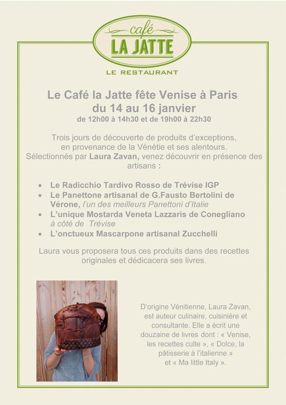 invitation « Venise à Paris »