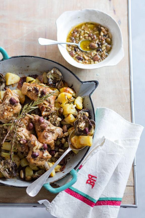 Lapin aux olives et artichauts_Laura_Zavan