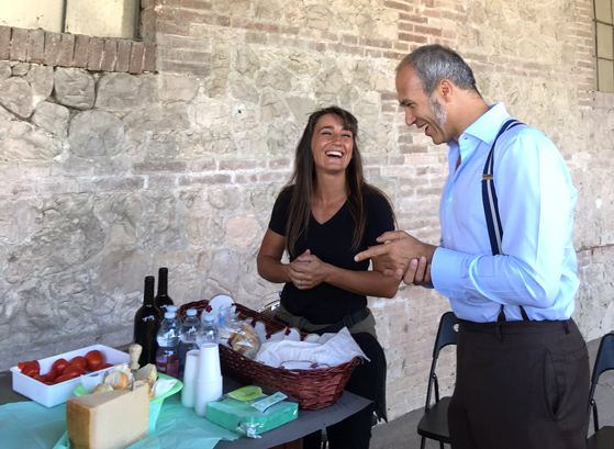 Francesco Mutti et Simona Ponzi