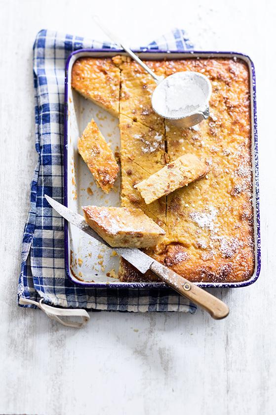 Gâteau de riz aux amandes, recette de Laura Zavan