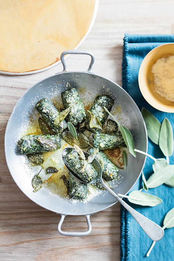 Gnocchis verts, recette de Laura Zavan