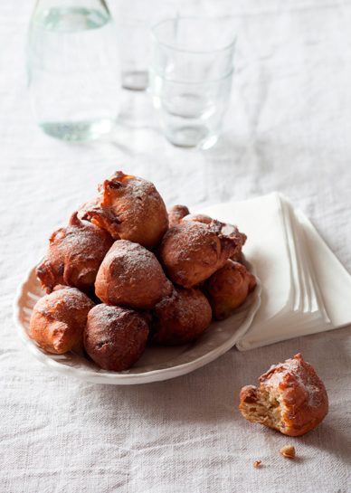 Fritole, beignets de Carnaval. Recette de Laura Zavan