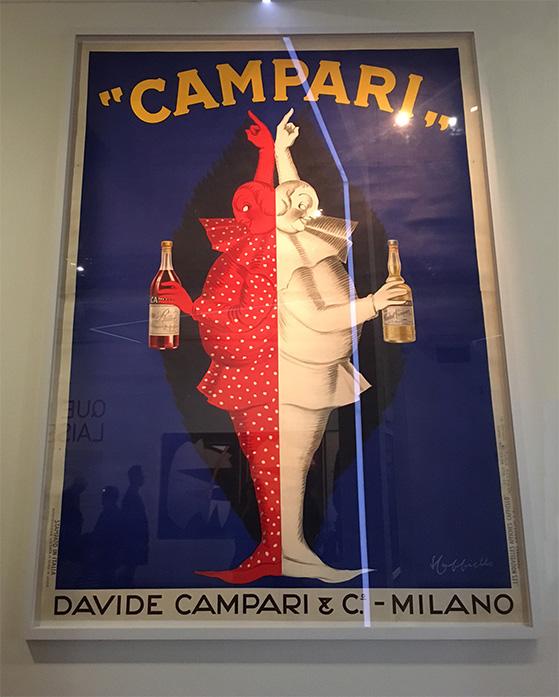 Affiche publicitaire Campari