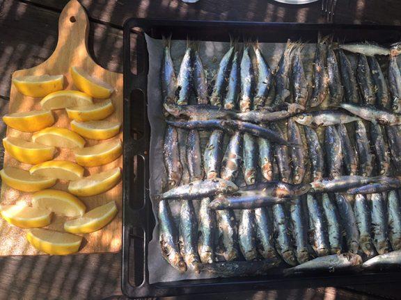 Sardines au four, recette de Laura Zavan