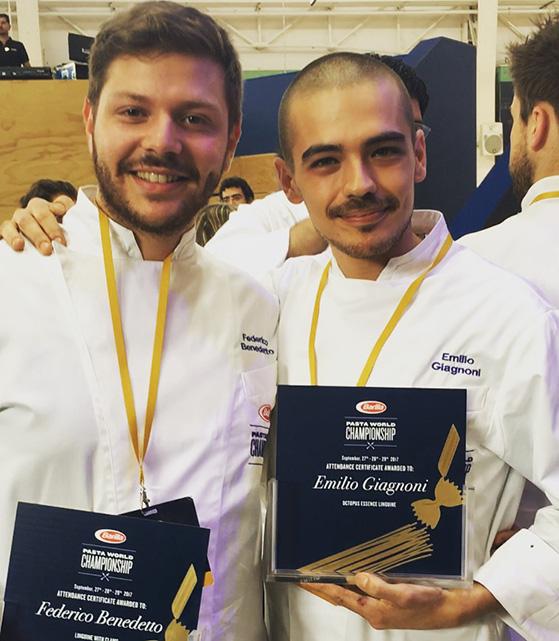 Emilio Giagnoni et Federico Benedetto