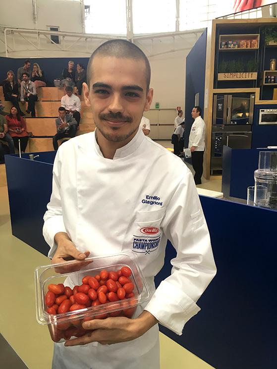 Emilio Giagnoni et les tomates fraiches