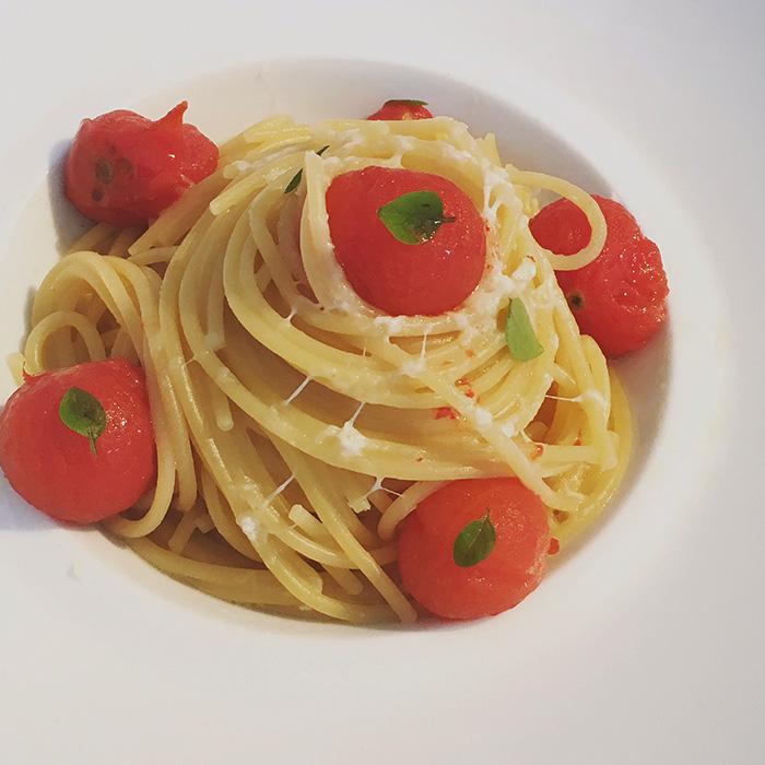 Les spaghetti de Federico Benedetto