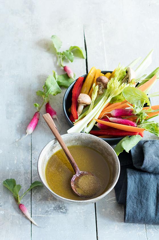 Dip aux anchois, recette de Laura Zavan