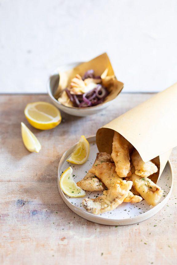 Baccalà frit, recette de Laura Zavan