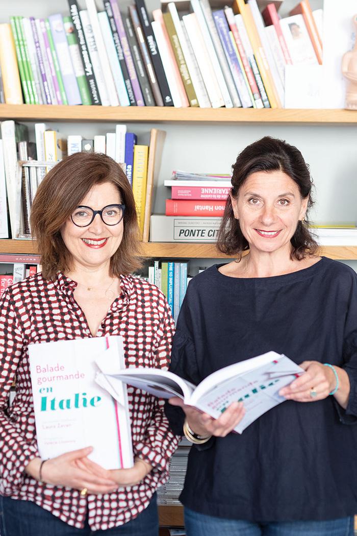 Laura Zavan et Valérie Lhomme