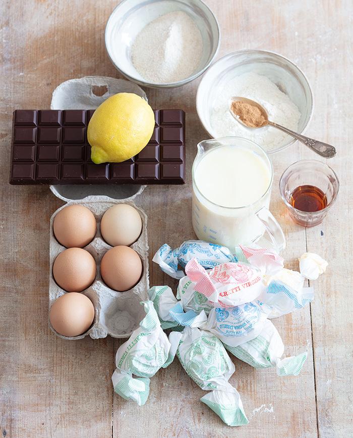 Gâteau crescionda, recette de Laura Zavan (ingrédients)
