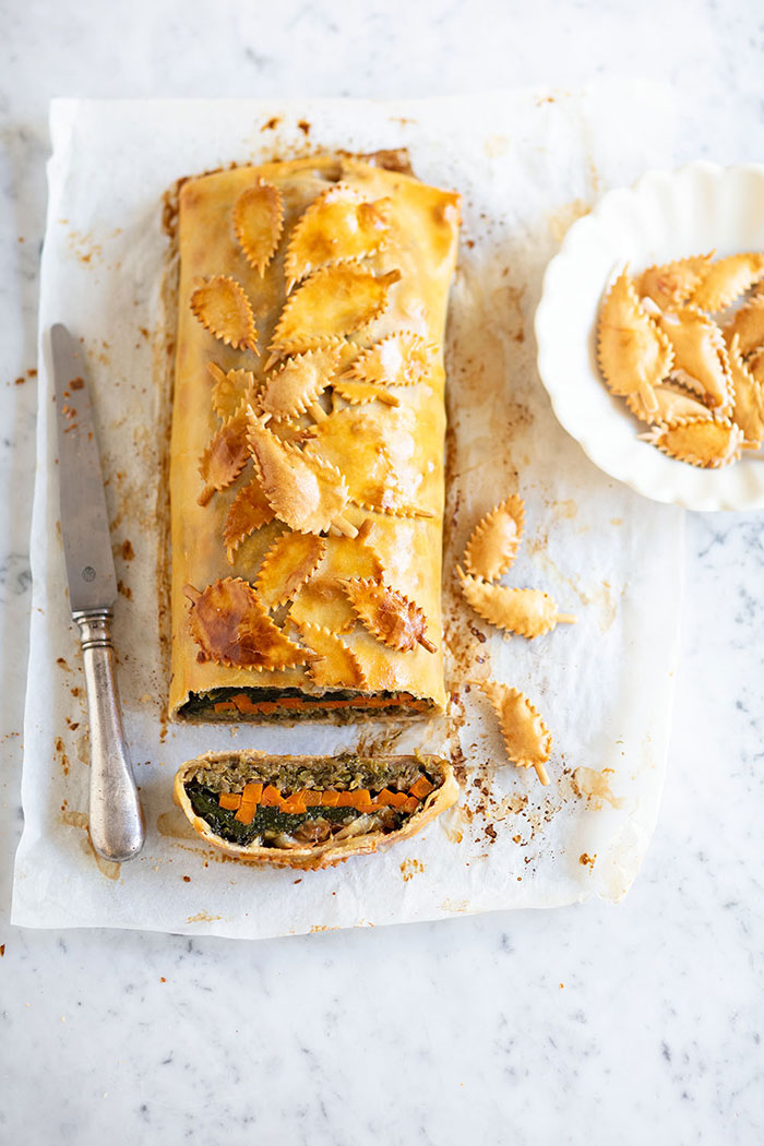 Strudel de légumes, recette de Laura Zavan