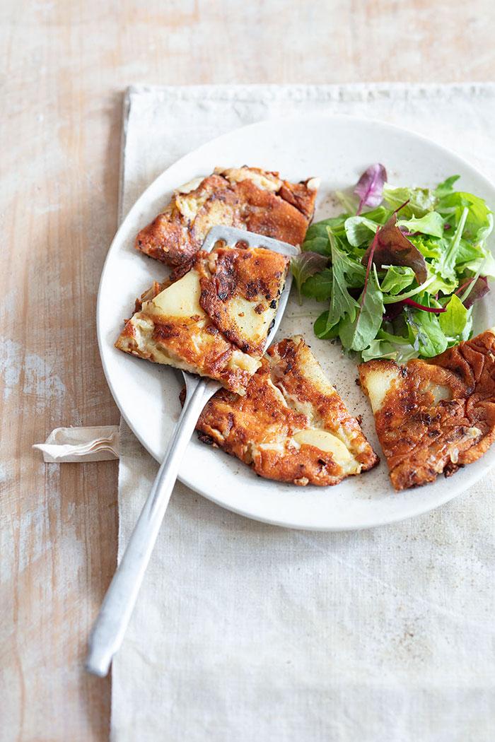 Frico, galette de pomme de terre, recette de Laura Zavan