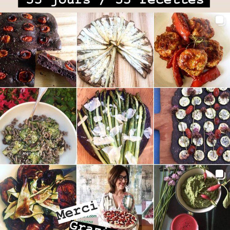 Recettes Instagram de Laura Zavan, printemps 2020