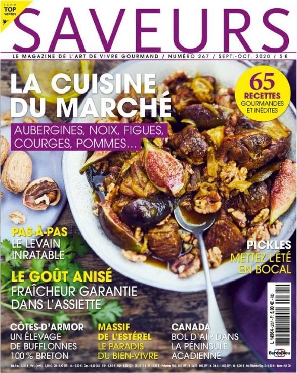 Couverture magazine Saveurs n°267