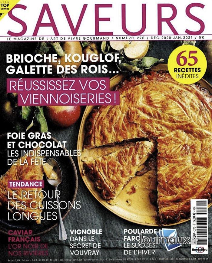 Couverture magazine Saveurs n°270