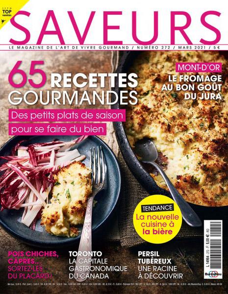 Couverture magazine Saveurs n°272