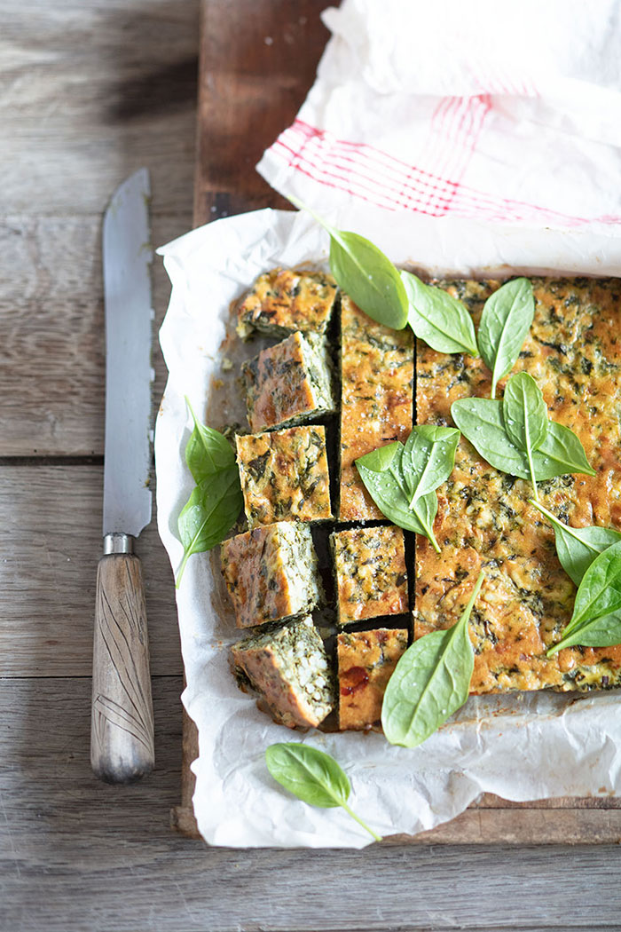 Gâteau de riz et herbes, recette de Laura Zavan