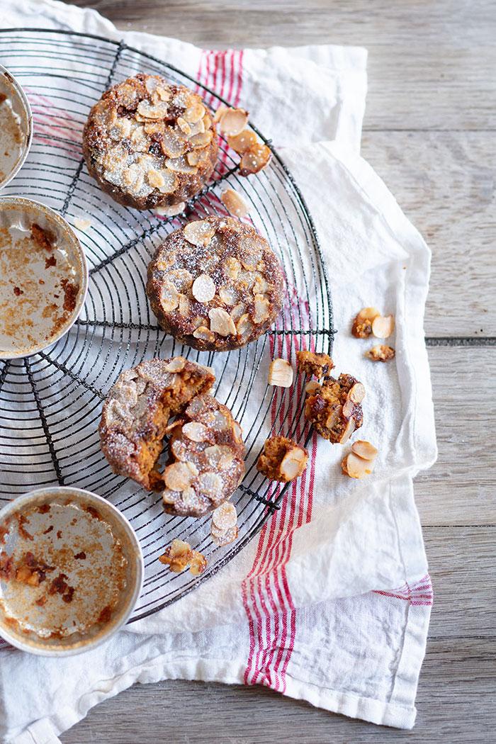 Gâteau potiron, pommes et amaretti, recette de Laura Zavan