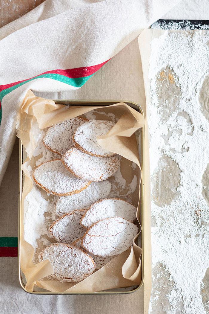 Biscuits Ricciarelli, recette de Laura Zavan