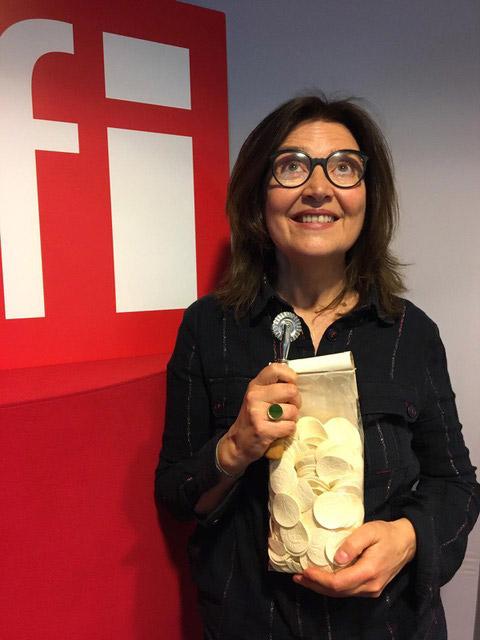 Portrait de Laura Zavan dans l'émission radio «Le goût du monde »